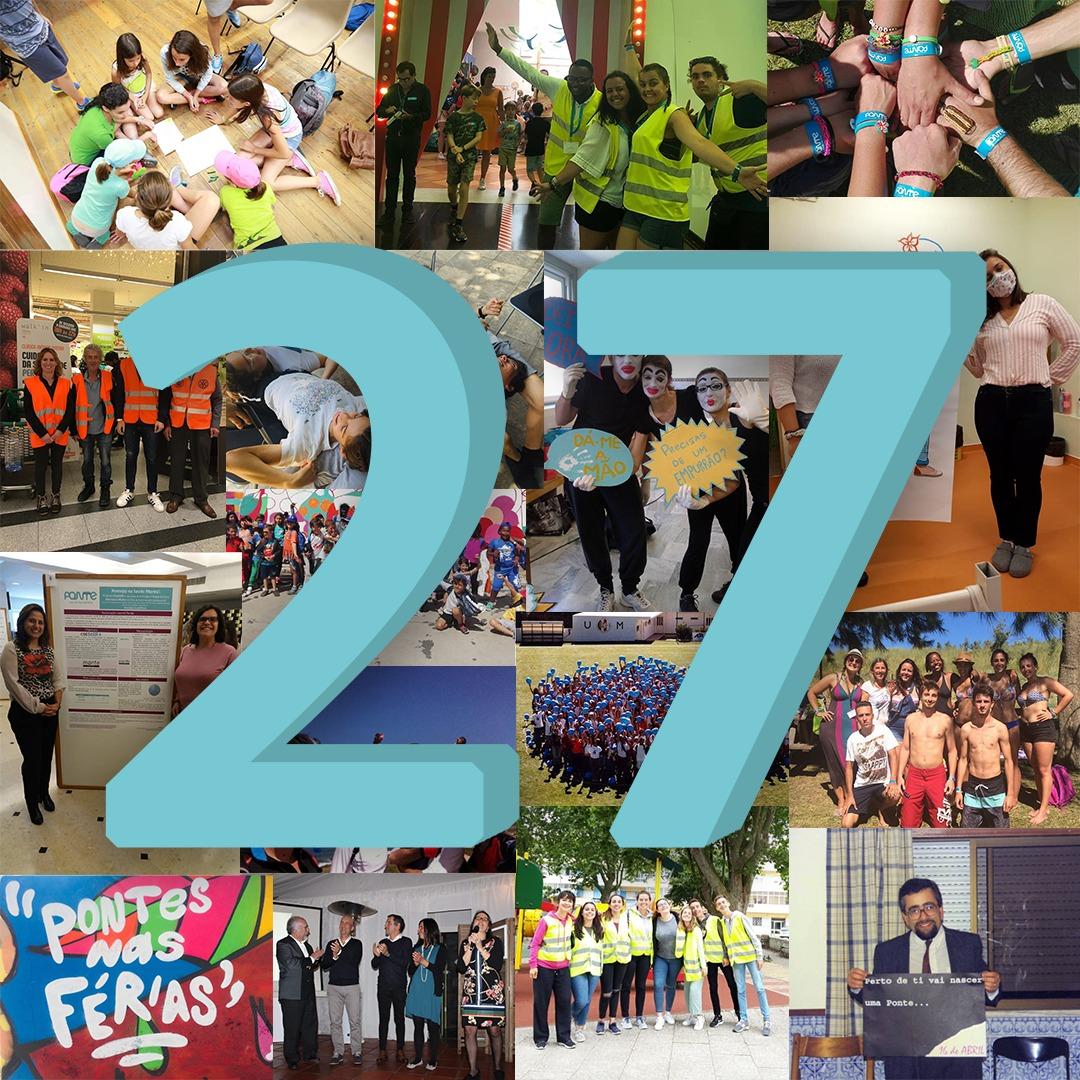 27 anos de PONTE